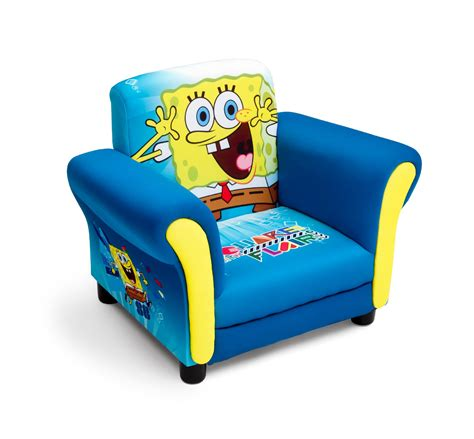 delta children spongebob upholstered chair baby
