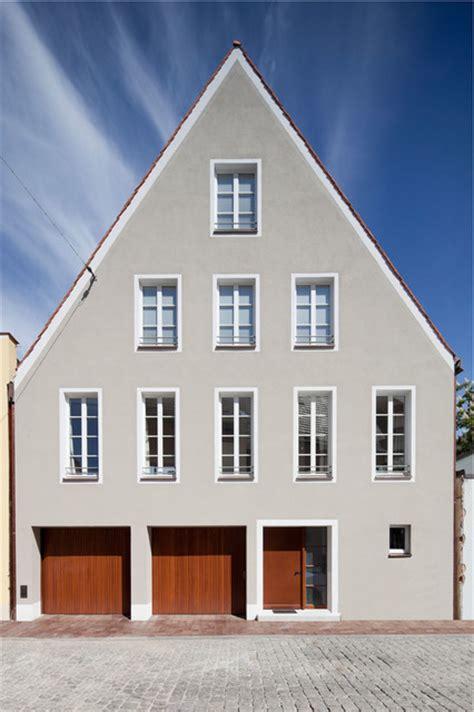haus und grund landshut stadthaus landshut klassisch modern haus fassade