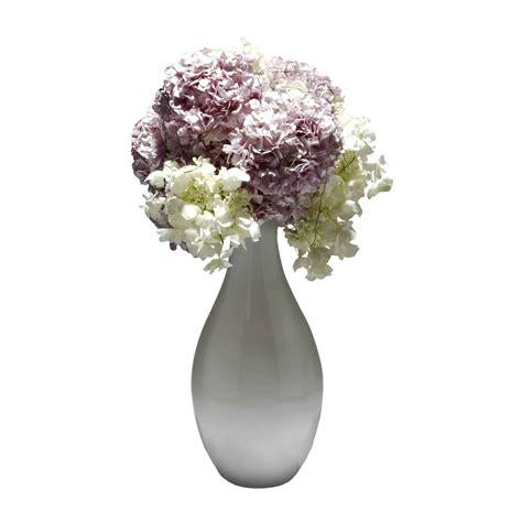White Artificial Flowers In Vase by Silk Flower Arrangements Flower Bouquets Shop