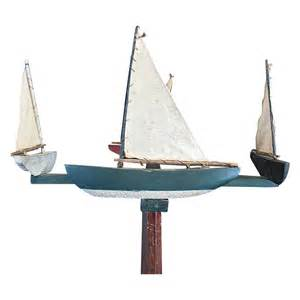 vintage sailboat whirligig from north2southantiques on ruby lane