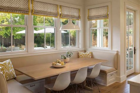 Banquette Cushions by Cozy Dining Space With Banquette Seating Ideas Homesfeed