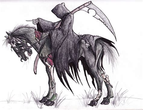 reaper horse by horseyperson on deviantart