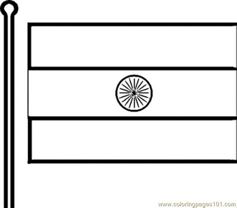 coloring page for indian flag indian flag coloring page free india coloring pages