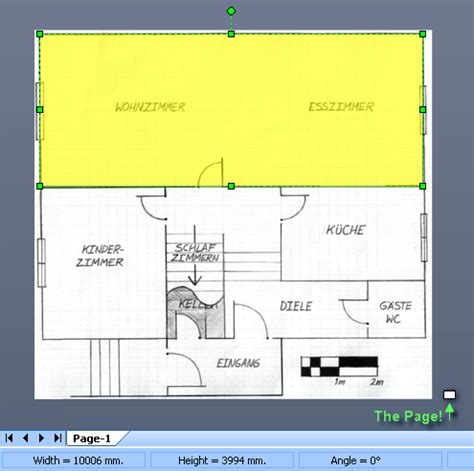 resize visio drawing to fit page importing images as backgrounds for scaled drawings