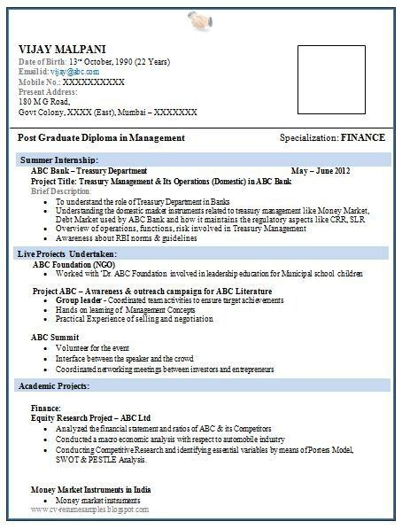 attractive resume formats attractive resume format for freshers best resume collection
