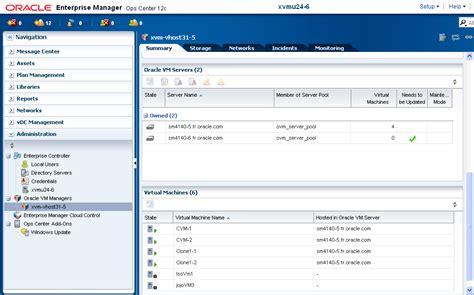 tutorial oracle vm manager enterprise manager ops center creating server pool for