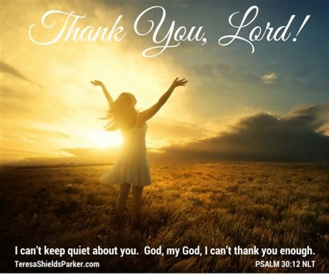 just thank you, lord | teresa shields parker
