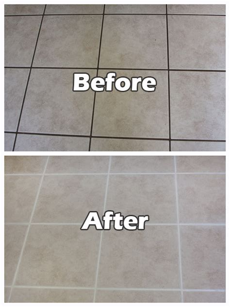 Grout Cleaning Before And After Grout Cleaning Tile And Grout Cleaning Seal Systems