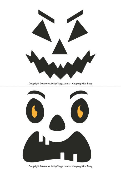 pumpkin carving templates small