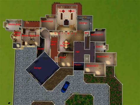 floor plans for sims 3 mod the sims quot american dream quot