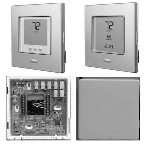 replacing carrier thermostat 960 120032 2 with honeywell
