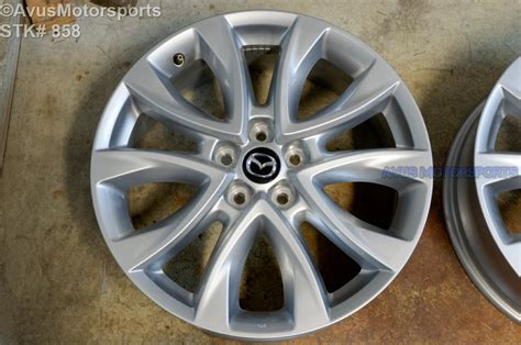 2014 mazda 3 bolt pattern 2014 mazda cx 5 oem 19 quot factory wheels cx5 mazda6 6 ebay