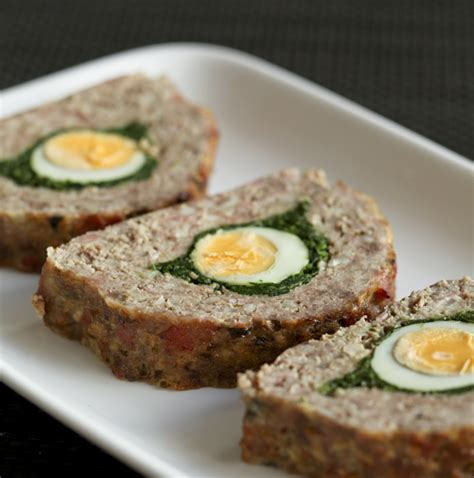 spinach and egg meatloaf fast ed