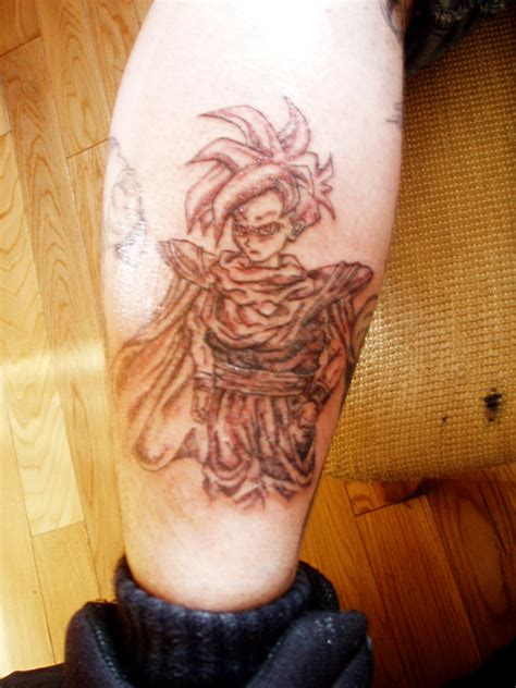 gohan tattoo tattoos heroes and villains the dao of
