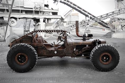 hauk designs steam jeep rock rat jeep looks to be straight from mad max fury road