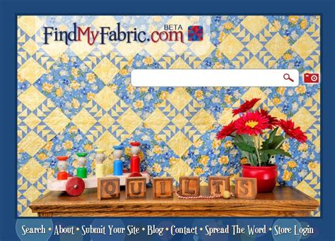 Quilt Fabric Finder by Quilted Cupcake Find Fabric