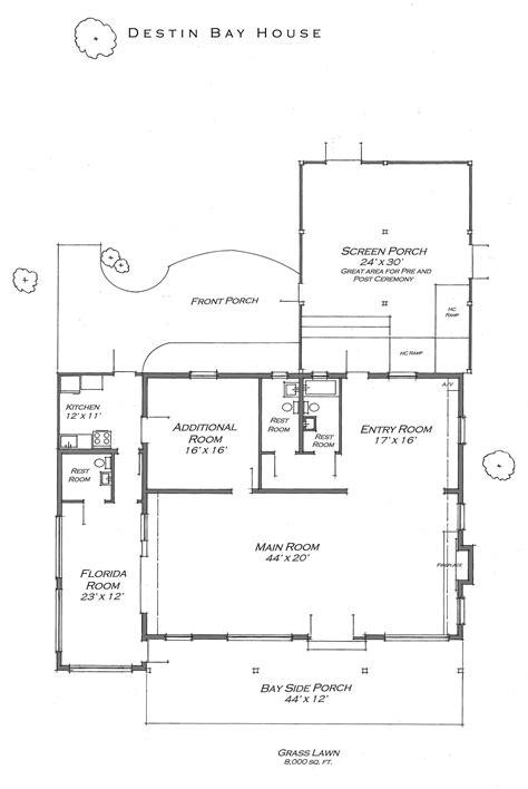 bay house plans destin bay house floor plan destin bay house