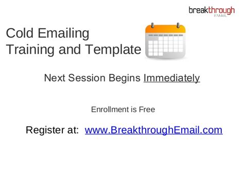 Breakthrough Email Template Bryan Kreuzberger Breakthrough Email Rar