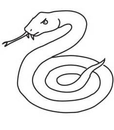 printable snake coloring pages coloring