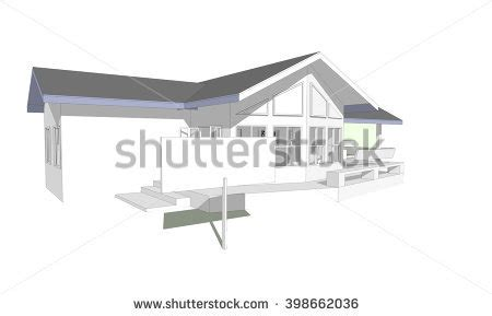 new 3d house isolated on white background business progress icon stock vector 600477950 shutterstock
