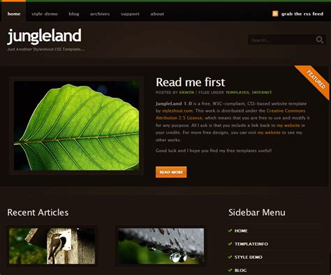 website design templates free for asp net part 3 creating the start page create an episerver site