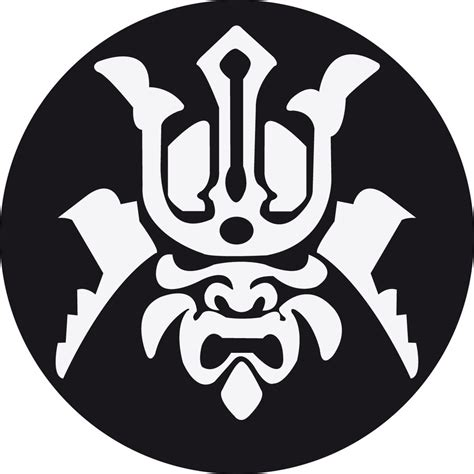 japan tattoo logo samurai mask by xvitux on deviantart