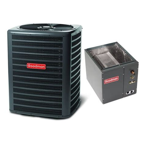 3 ton ac unit capacitor 3 ton 14 seer goodman air conditioning condenser and coil gsx140361 capf3642c6 ebay