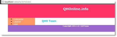 free layout templates cakephp hướng dẫn học sử dụng layout trong cakephp