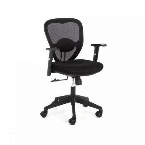 black leather desk chair office furniture
