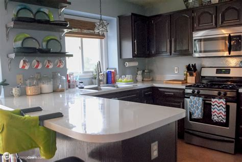 Painted Countertops Reviews by Remodelaholic Diy Painted Countertop Reviews