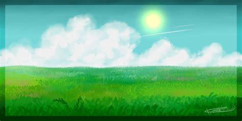 Sketches Grassy Land by Grassland By Irenerielle On Deviantart
