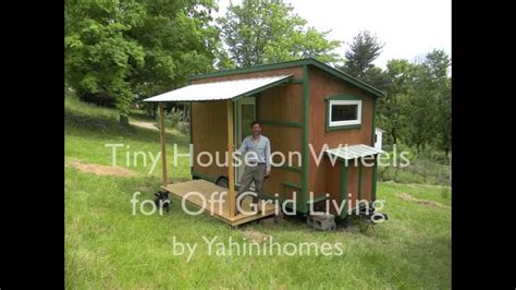 tiny house on wheels for grid living