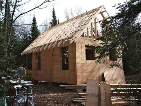 simple affordable build   approach   cabin