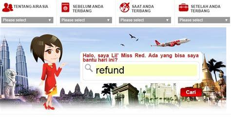 airasia refund status cara minta refund airport tax tiket airasia desi sachiko