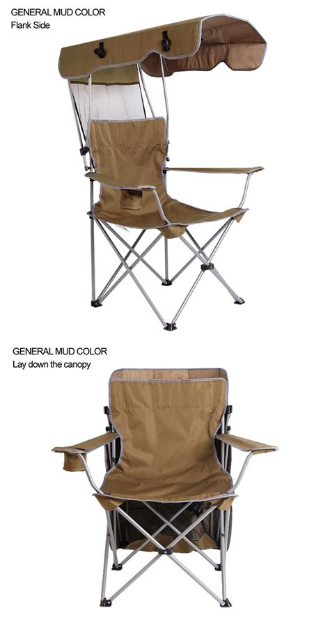 folding rocking chair with canopy folding cing rocking chairs with canopy buy cing