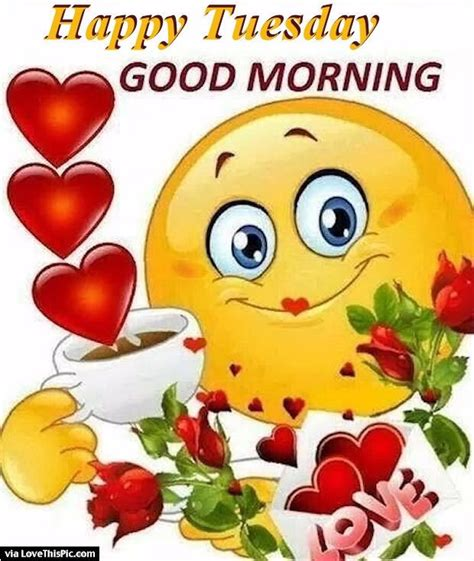 imagenes de good morning tuesday cute happy tuesday good morning quote the word