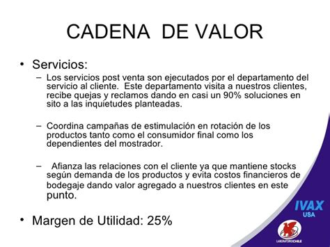 cadena de valor ccu chile