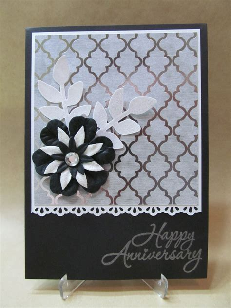 Handmade Greetings For Anniversary - savvy handmade cards handmade anniversary card