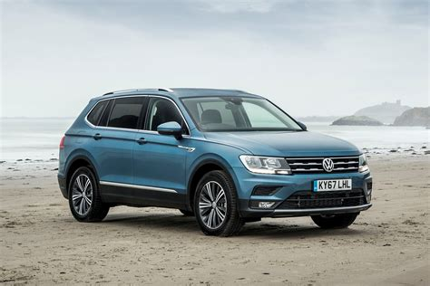 vw volkswagen vw tiguan allspace review summary parkers
