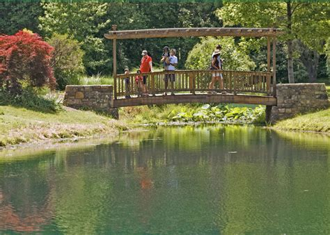 Virginia Botanical Gardens Virginia Cus Of The Potomac