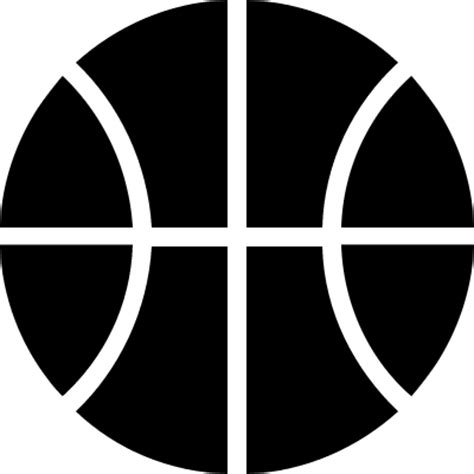 Country House Design by Ball Of Basketball Black Sportive Object Symbol Free