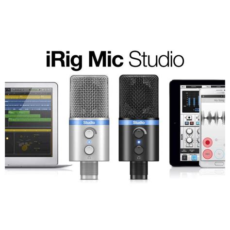 Irig Mic Studio buy ik multimedia irig mic studio