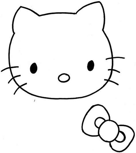 como hacer la cabeza de hello kity para disfraz moldes de caras de hello kitty imagui