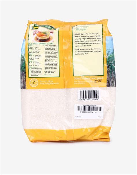 Harga Gulaku gulaku gula tebu kuning 1 kg mataharimall