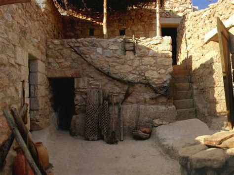 biblical archaeology what did jesus look like what were houses like in ancient israel