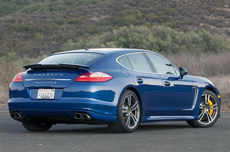 2012 Porsche Panamera Turbo S Review W Video Autoblog