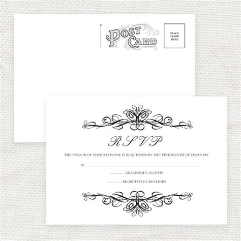 7 best images of printable rsvp cards for weddings free