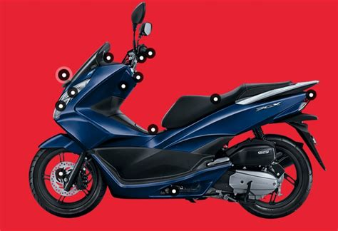 Pcx 2018 Warna Biru by Honda Pcx 2017 Biru Warungasep