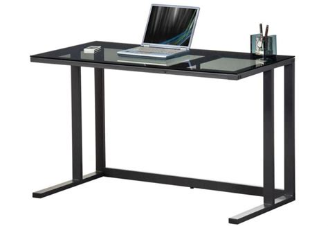 Metal Frame Computer Desk by Alphason Air Desk Computer Workstation Black Metal