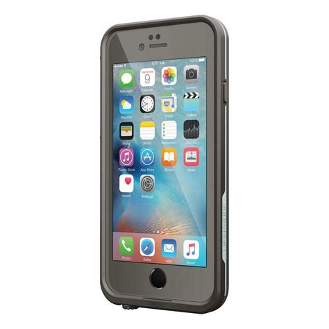 oem new lifeproof fre waterproof for iphone 6 6s retail pkg gray light blue ebay